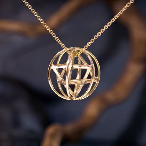 merkaba prana small gold